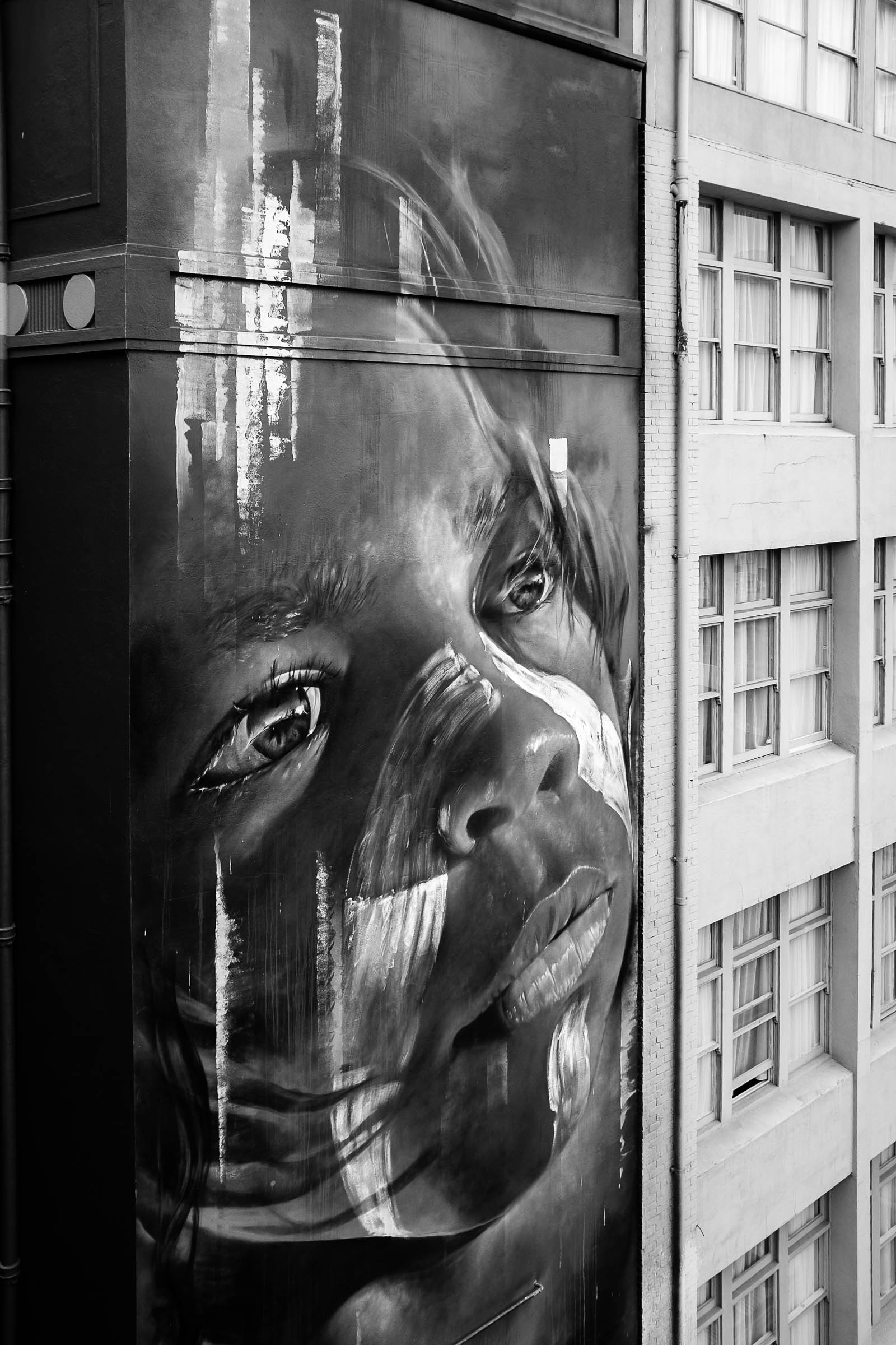PoW #8: Indigenous boy by Adnate on Hosier Lane