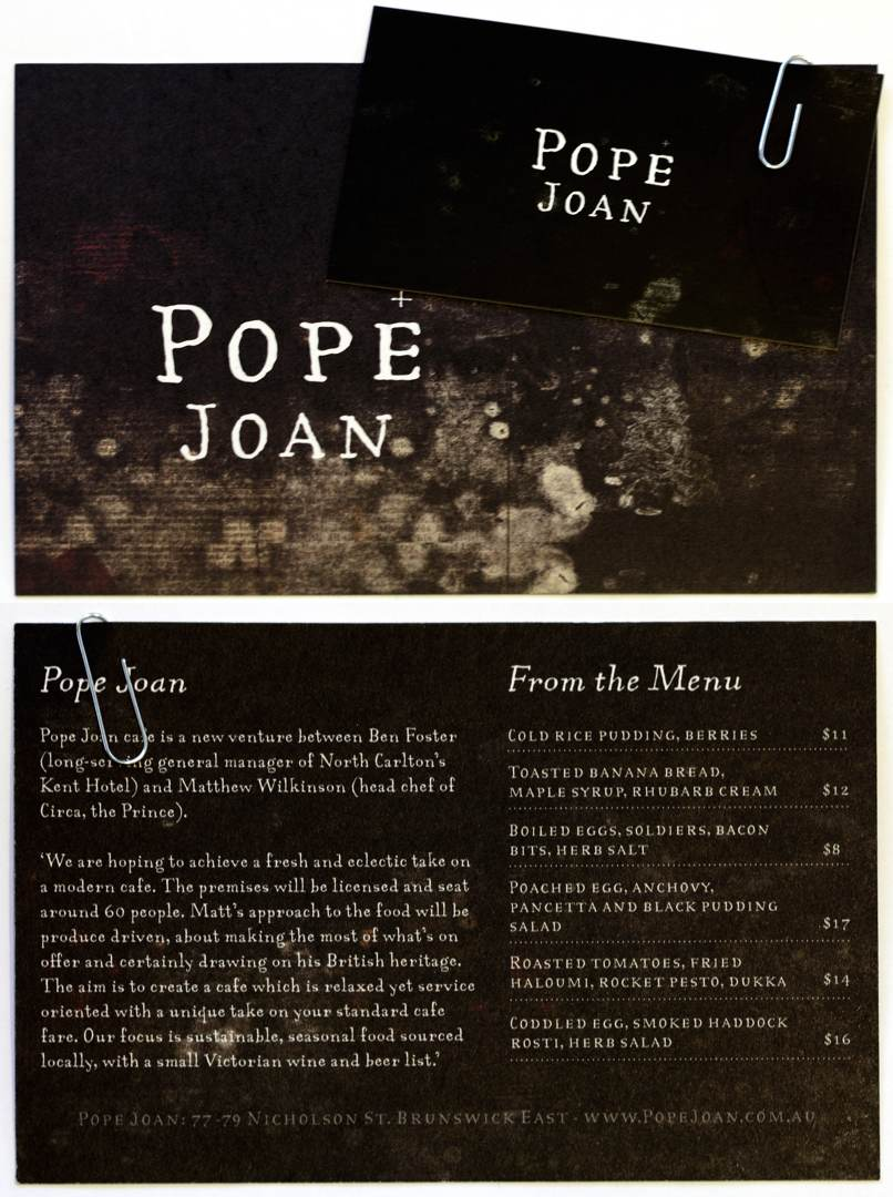 Pope Joan Postcard